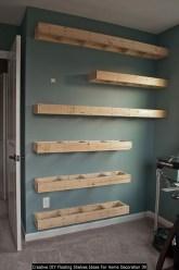 Creative DIY Floating Shelves Ideas For Home Decoration 39
