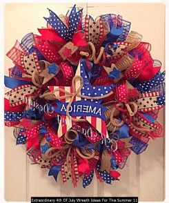 Extraordinary 4th Of July Wreath Ideas For This Summer 11