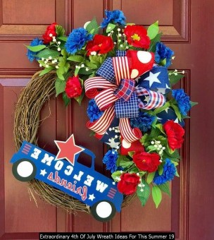Extraordinary 4th Of July Wreath Ideas For This Summer 19