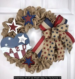 Extraordinary 4th Of July Wreath Ideas For This Summer 22