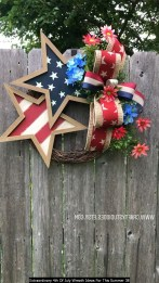 Extraordinary 4th Of July Wreath Ideas For This Summer 38