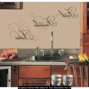 Gorgeous Kitchen Wall Ideas For Your Decorative Hub 14