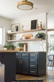Gorgeous Kitchen Wall Ideas For Your Decorative Hub 34