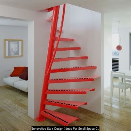 Innovative Stair Design Ideas For Small Space 01