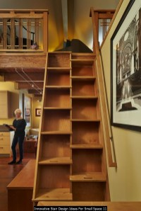Innovative Stair Design Ideas For Small Space 11