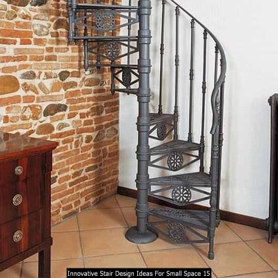 Innovative Stair Design Ideas For Small Space 15