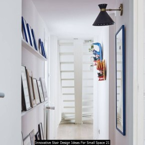 Innovative Stair Design Ideas For Small Space 21