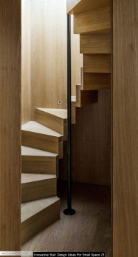 Innovative Stair Design Ideas For Small Space 25