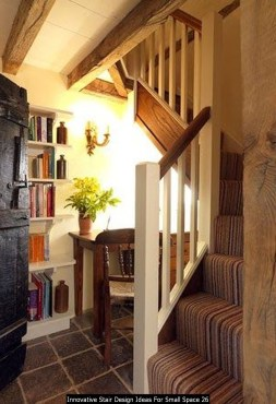 Innovative Stair Design Ideas For Small Space 26