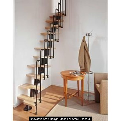 Innovative Stair Design Ideas For Small Space 33
