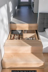 Innovative Stair Design Ideas For Small Space 38