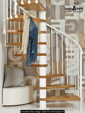 Innovative Stair Design Ideas For Small Space 41