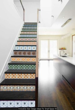 Innovative Stair Design Ideas For Small Space 43