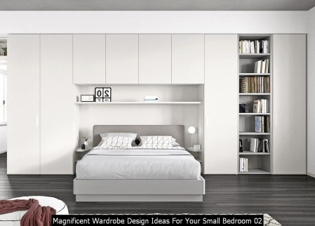 Magnificent Wardrobe Design Ideas For Your Small Bedroom 02