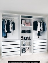 Magnificent Wardrobe Design Ideas For Your Small Bedroom 07