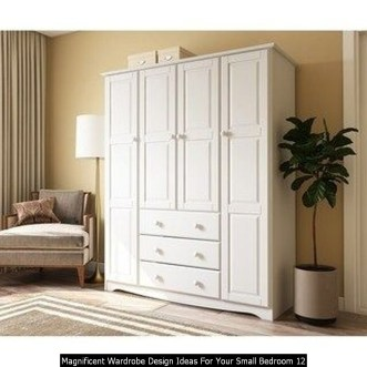 Magnificent Wardrobe Design Ideas For Your Small Bedroom 12