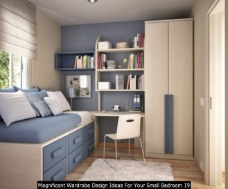 Magnificent Wardrobe Design Ideas For Your Small Bedroom 19