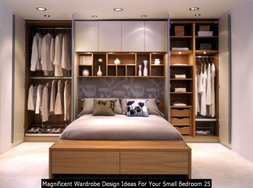 Magnificent Wardrobe Design Ideas For Your Small Bedroom 25