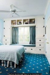 Magnificent Wardrobe Design Ideas For Your Small Bedroom 28