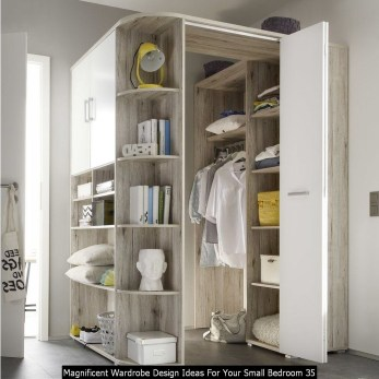 Magnificent Wardrobe Design Ideas For Your Small Bedroom 35