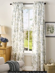 Outstanding Bedroom Curtains Ideas You Have To See And Copy 03
