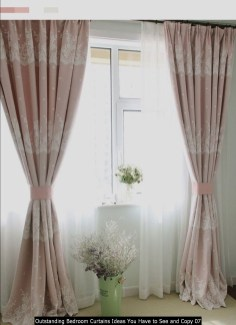 Outstanding Bedroom Curtains Ideas You Have To See And Copy 07