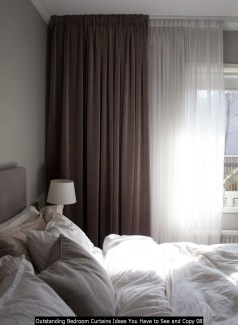 Outstanding Bedroom Curtains Ideas You Have To See And Copy 08