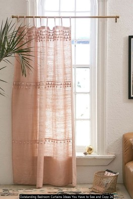Outstanding Bedroom Curtains Ideas You Have To See And Copy 26