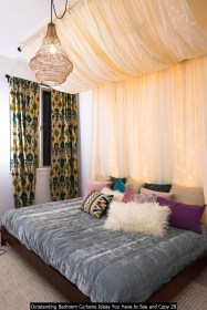 Outstanding Bedroom Curtains Ideas You Have To See And Copy 28