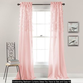 Outstanding Bedroom Curtains Ideas You Have To See And Copy 43