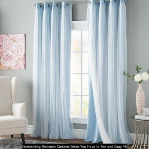Outstanding Bedroom Curtains Ideas You Have To See And Copy 48