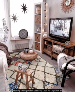 Stunning Small Apartment Decorating Ideas For Inspiration 23