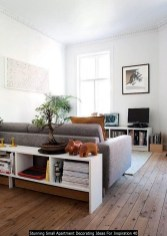 Stunning Small Apartment Decorating Ideas For Inspiration 40