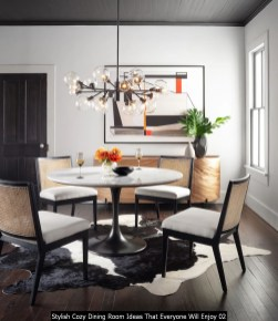 Stylish Cozy Dining Room Ideas That Everyone Will Enjoy 02