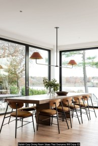 Stylish Cozy Dining Room Ideas That Everyone Will Enjoy 03