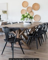 Stylish Cozy Dining Room Ideas That Everyone Will Enjoy 10