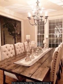 Stylish Cozy Dining Room Ideas That Everyone Will Enjoy 18