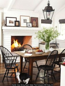 Stylish Cozy Dining Room Ideas That Everyone Will Enjoy 22