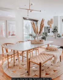 Stylish Cozy Dining Room Ideas That Everyone Will Enjoy 31