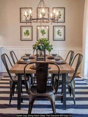 Stylish Cozy Dining Room Ideas That Everyone Will Enjoy 33