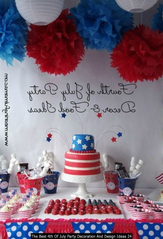 The Best 4th Of July Party Decoration And Design Ideas 24