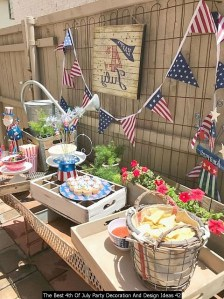 The Best 4th Of July Party Decoration And Design Ideas 42