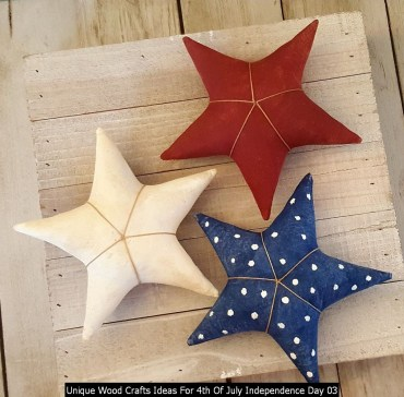 Unique Wood Crafts Ideas For 4th Of July Independence Day 03