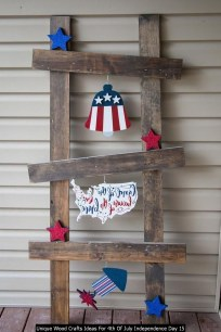Unique Wood Crafts Ideas For 4th Of July Independence Day 15