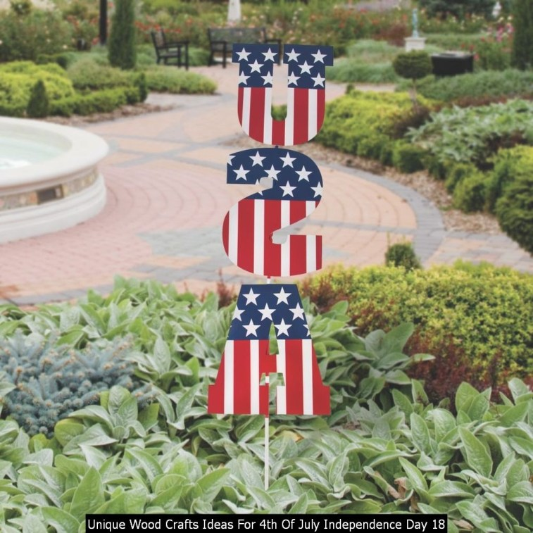 Unique Wood Crafts Ideas For 4th Of July Independence Day 18