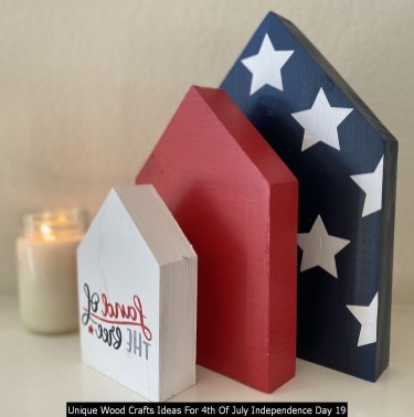 Unique Wood Crafts Ideas For 4th Of July Independence Day 19
