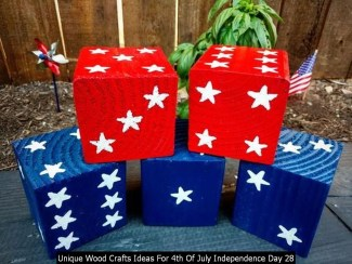 Unique Wood Crafts Ideas For 4th Of July Independence Day 28