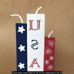Unique Wood Crafts Ideas For 4th Of July Independence Day 30