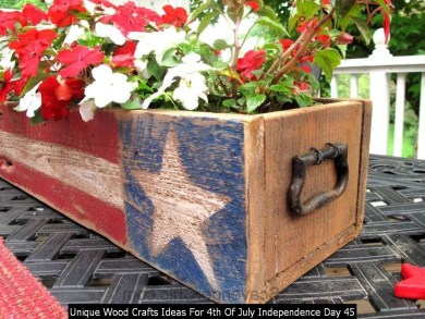 Unique Wood Crafts Ideas For 4th Of July Independence Day 45