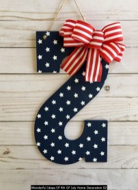 Wonderful Ideas Of 4th Of July Home Decoration 02